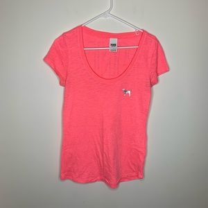 Women's Medium PINK Pink Shirt